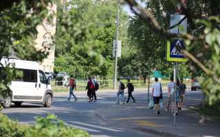 Наезд на пешехода на тротуаре ответственность 2017