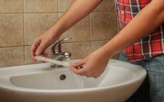 Как правильно измерить температуру воды