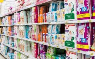 Можно ли поменять памперсы в магазине