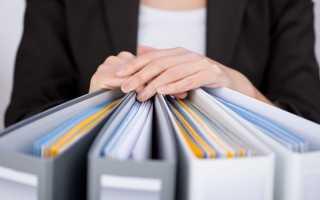 Какие документы должны выдать при регистрации ип