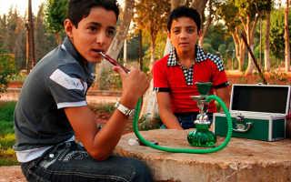 Курить кальян возрастное ограничение