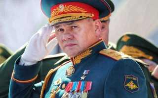 Кому подчиняется министр обороны рф