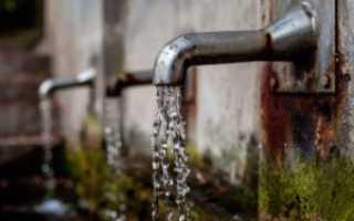 Норма потребления воды в спб