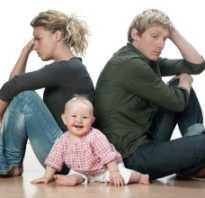Могут развести если ребенку нет года