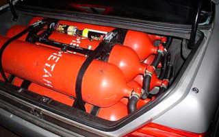 Можно ли заправить машину бытовым газом